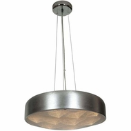 Access 70083LEDD-BSL-ACR Meteor Modern Brushed Silver Finish 4.5  Tall LED Lighting Pendant