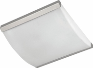 AFX ALF16218QMVSNLA Algiers Satin Nickel Fluorescent Ceiling Light Fixture