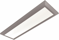 AFX ATLF12121100L30D1SN Atlas Contemporary Satin Nickel LED Interior / Exterior 15  Flush Mount Light Fixture