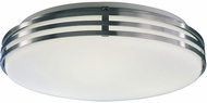 AFX BBF131400L30D1SA Bilbao White Glass LED 13.5  Ceiling Light