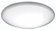 AFX CFF142400LBN Capri Brushed Nickel LED Interior / Exterior 14  Flush Mount Lighting Fixture