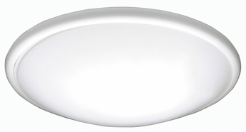 AFX CFF193100LWH Capri White LED Indoor / Outdoor 19  Home Ceiling Lighting