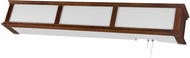 AFX CMB325CHE8 Cameron Cherry Wood Fluorescent Overbed Wall Lamp