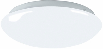 AFX CMF091100L Camden White LED Interior / Exterior 9  Overhead Light Fixture