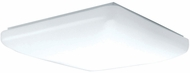 AFX CSF101100L Carter White LED Interior / Exterior 10  Ceiling Light Fixture