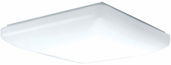 AFX CSF142400L Carter White LED Interior / Exterior 14  Ceiling Light Fixture