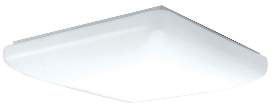 AFX CSF202400L30D1 Carter White LED 20 Flush Mount Ceiling Light