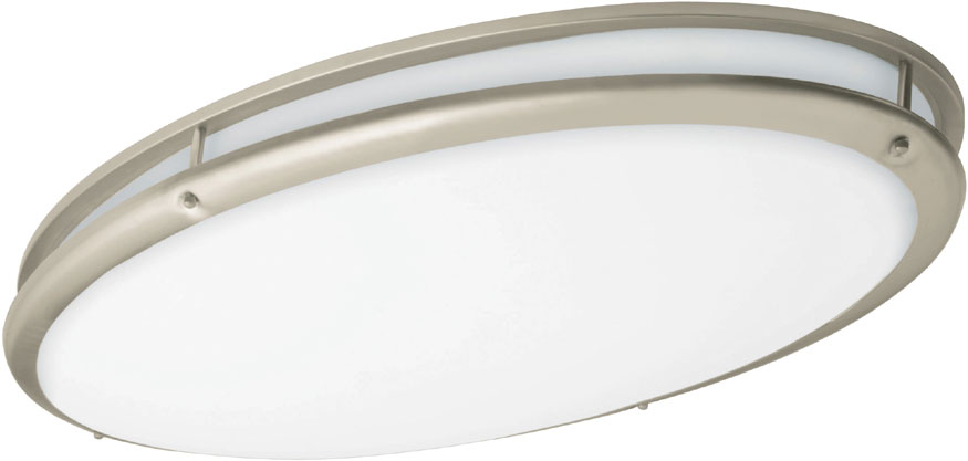 Afx Cvf32232c927ensn Covina Nickel Fluorescent 17 Overhead Light