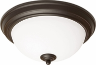 AFX CYF11126GU27RB Canterbury Oil-Rubbed Bronze Fluorescent 13  Ceiling Light Fixture