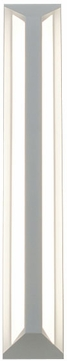 AFX FTS4241800L30D1WH Fulton Contemporary White LED Outdoor 24 Wall Lighting