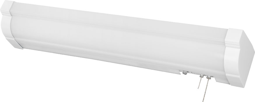 Wall Mounted Fluorescent Lamp : AFX GLB332E8WH Glenview White Fluorescent 50