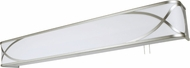 AFX HZB325SNE8 Helios Satin Nickel Fluorescent 30  Overbed Wall Light Fixture