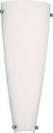 AFX LCS0615218QENWH Lancet Contemporary White Fluorescent Wall Sconce Lighting