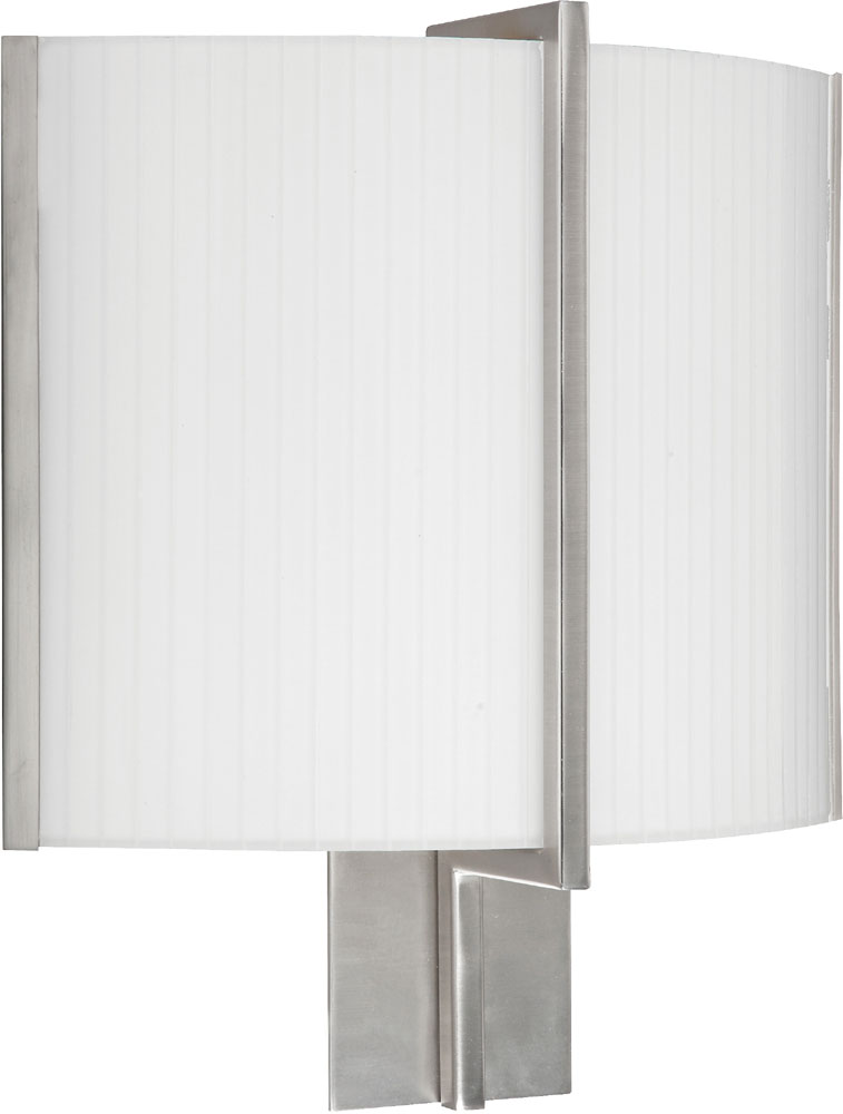 AFX MIDS1315213QMVSN Delaney Modern Satin Nickel Fluorescent Wall Mounted Lamp - AFX ...