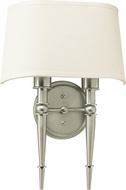 AFX MNS1318218QENSN Montrose Satin Nickel Fluorescent Wall Sconce Light