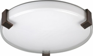 AFX NLF16155C530MVRB Nolan Oil-Rubbed Bronze Fluorescent Overhead Light Fixture