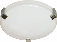 AFX NLF16155C530MVSN Nolan Satin Nickel Fluorescent Overhead Lighting Fixture
