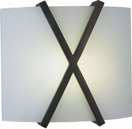 AFX RES1211213QMVRB Restoration Oil-Rubbed Bronze Fluorescent Wall Light Fixture