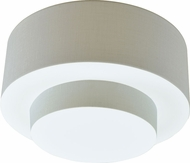AFX RHF12213QEN-LW Rhome Contemporary Fluorescent Flush Mount Lighting