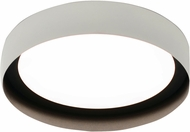 AFX RVF121400L30D1WHBK Reveal Modern White / Black LED Indoor / Outdoor 12  Overhead Lighting