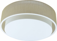 AFX SAF16213QEN-LR Sanibel Contemporary Fluorescent Flush Mount Light Fixture