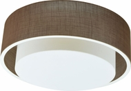 AFX SAF16213QEN-ML Sanibel Contemporary Fluorescent Flush Ceiling Light Fixture