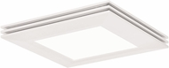 AFX SLF12241800L30D1WH Sloane Modern White LED Indoor / Outdoor 27  Overhead Light Fixture