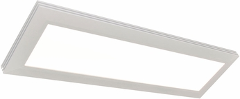 AFX SLL12483200L30D1WH Sloane Modern White LED Indoor / Outdoor Ceiling Lighting