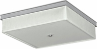 AFX TAF16155C530MVPC Taylor Contemporary Chrome Fluorescent Flush Mount Ceiling Light Fixture