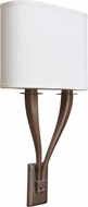 AFX TYS213QKBMV-WH Tory Okley Bronze Fluorescent Wall Lighting Sconce