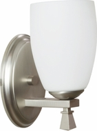 AFX VOS113SNSCT Voltare Satin Nickel Fluorescent Wall Sconce Lighting