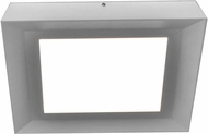 AFX ZUF12121100L30D1SN Zurich Contemporary Satin Nickel LED Interior / Exterior Ceiling Light