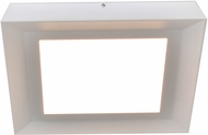 AFX ZUF12121100L30D1WH Zurich Modern White LED Indoor / Outdoor Ceiling Light Fixture