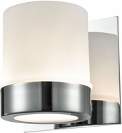 Alico BV2121-10-15 Mulholland Modern Chrome Halogen Wall Sconce