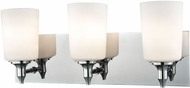 Alico BV2413-10-15 Alton Road Chrome Vanity Lighting