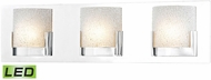 Alico BVL1203-0-15 Ophelia Modern Chrome LED Bath Lighting Fixture