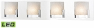 Alico BVL1204-0-15 Ophelia Contemporary Chrome LED Bathroom Light Fixture