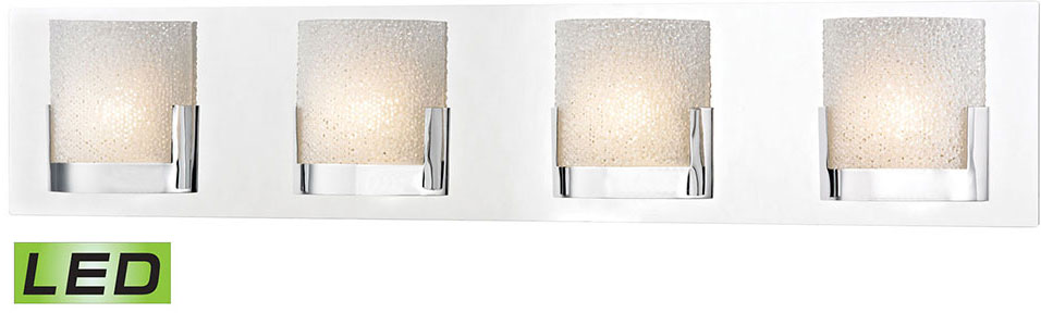 Bathroom Light Fixtures In Chrome alico bvl1204-0-15 ophelia contemporary chrome led bathroom light