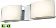 Alico BVL912-10-15 Pandora Contemporary Chrome LED Bathroom Vanity Lighting