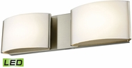 Alico BVL912-10-16M Pandora Modern Satin Nickel LED Bathroom Vanity Light