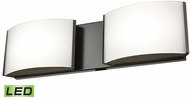 Alico BVL912-10-45 Pandora Contemporary Oiled Bronze LED Bathroom Sconce