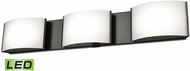 Alico BVL913-10-45 Pandora Modern Oiled Bronze LED Vanity Lighting Fixture