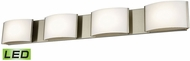 Alico BVL914-10-16M Pandora Modern Satin Nickel LED Bathroom Wall Sconce