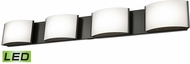 Alico BVL914-10-45 Pandora Contemporary Oiled Bronze LED Bath Wall Sconce