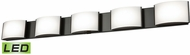Alico BVL915-10-45 Pandora Modern Oiled Bronze LED Bathroom Sconce Lighting