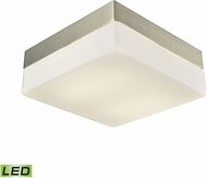 Alico FML2020-10-16M Wyngate Satin Nickel LED Medium Ceiling Light