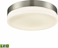 Alico FML4075-10-16M Holmby Satin Nickel LED Large Flush Lighting