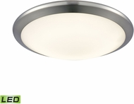 Alico FML4525-10-15 Clancy Chrome LED Small Flush Mount Light Fixture