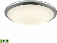 Alico FML4550-10-15 Clancy Chrome LED Large Flush Mount Lighting Fixture