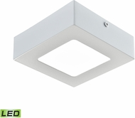 Alico FML6125-AC-30 Warwick Matte White LED Small Ceiling Light Fixture
